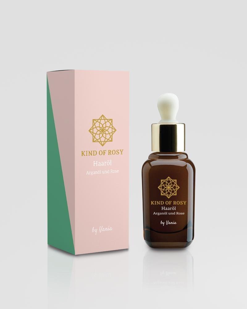 Haaröl: Arganöl & Rose (30 ml)
